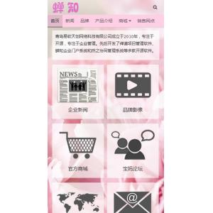 母婴产品销售商城模板移动版