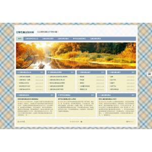 过敏性鼻炎信息网站模板